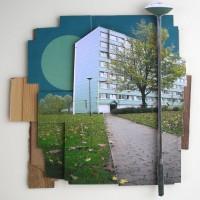 Grobund #1, 52 x 52 cm